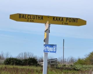 バルクルーサへの標識