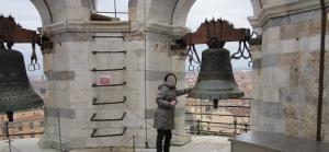 塔の上にある鐘