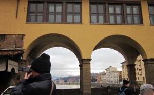 ヴェッキオ橋の一階部分