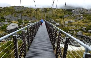 第一のつり橋
