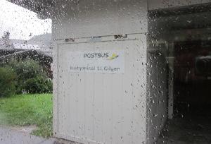 ザンクト・ギルゲンのバス停留所