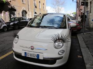 町で見つけた面白い車