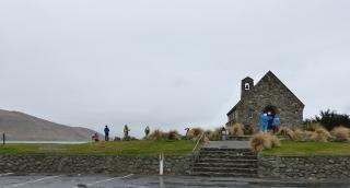 善き羊飼いの教会の正面