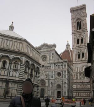 フィレンツェにあるドゥオモの全景