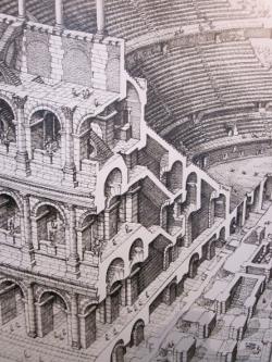 コロッセオの絵
