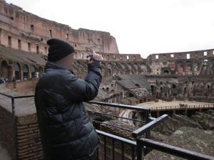 コロッセオ内の風景