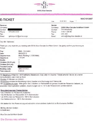 ヴァッハウ渓谷のクルージングの予約eチケット