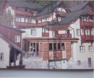 ヘリテージホテル・ハルシュタットの私達が泊まっていた部屋の外観