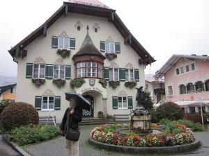 ザンクト・ギルゲンの街の住宅