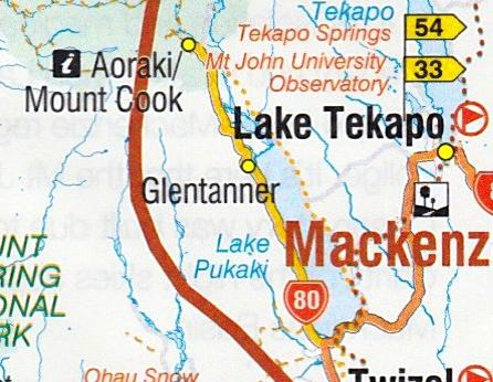アオラキ地方地図