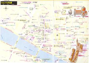 フィレンツェのマップ