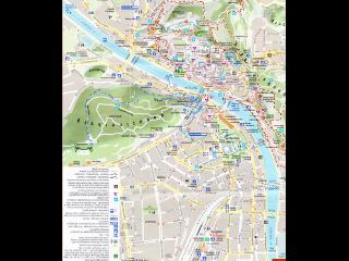 ザルツブルクのマップ