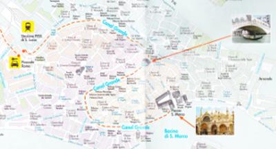 ミラノのマップ