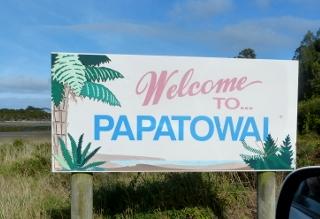 パパトワイの標識