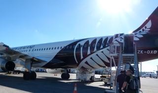 NZの飛行機