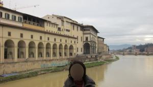 ヴェッキオ橋からの眺め