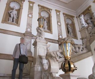 ミラベル宮殿の「天使の階段」