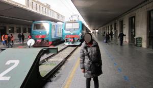 フィレンツェ・サンタ・マリア・ノッヴェラ駅のホーム