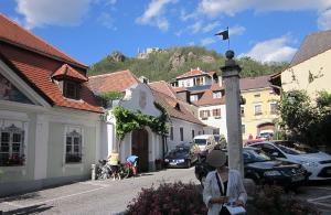 メルク修道院へと続くメルク市内ののメインストリート