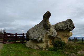 タキロア遺跡にある巨岩