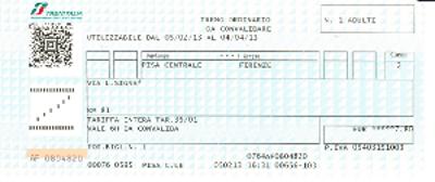 鉄道チケット