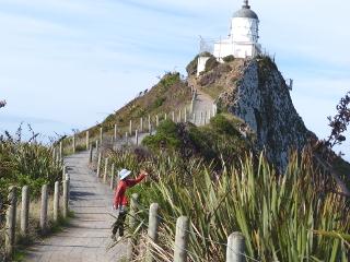 ナゲット・ポイントの灯台