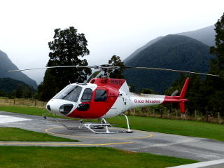NZヘリコプター観光