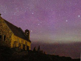 満天の星の下の善き羊飼いの教会