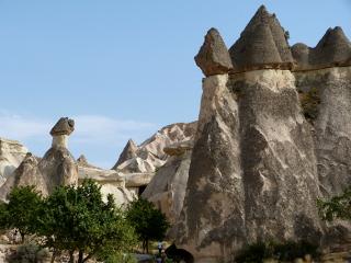 キノコの岩