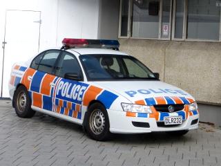 ニュージーランド警察のパトカー