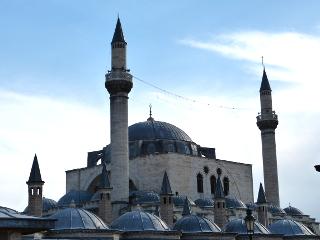 メブラーナモスクの屋根