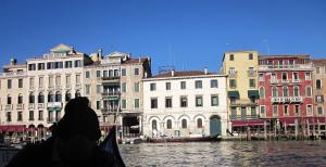 ベネチアの街の風景