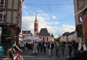 フランクフルト市庁舎前広場