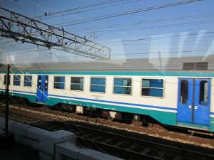 イタリアの列車1