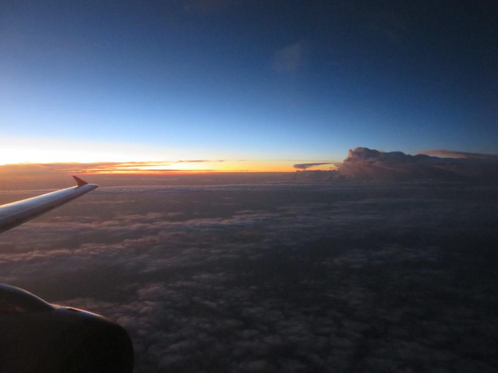 スカンジナビア航空・成田からコペンハーゲン空港へ