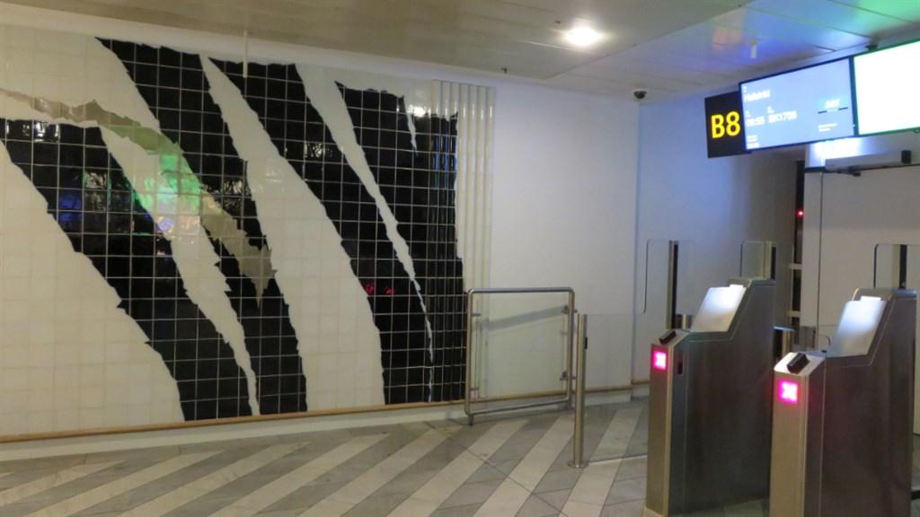 コペンハーゲン空港ゲート