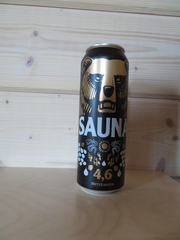 クマの絵のビール
