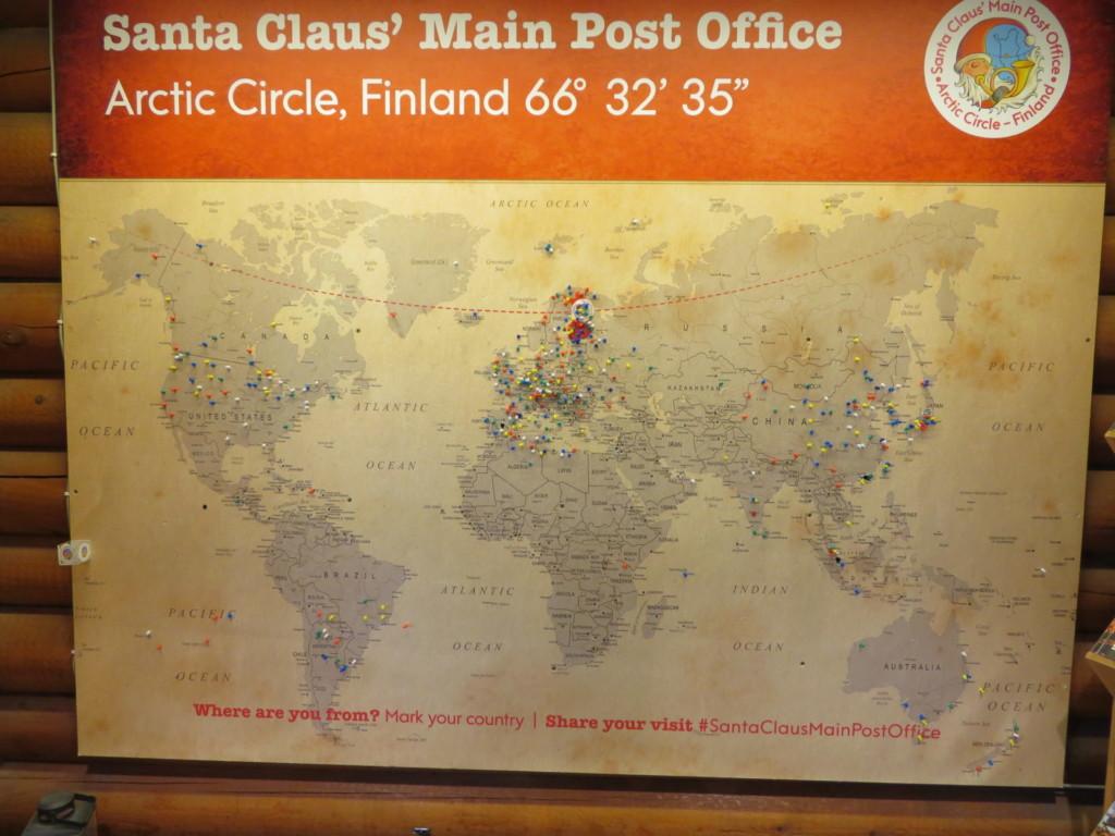 サンタ郵便局
