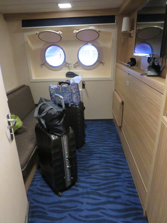 客船のキャビン