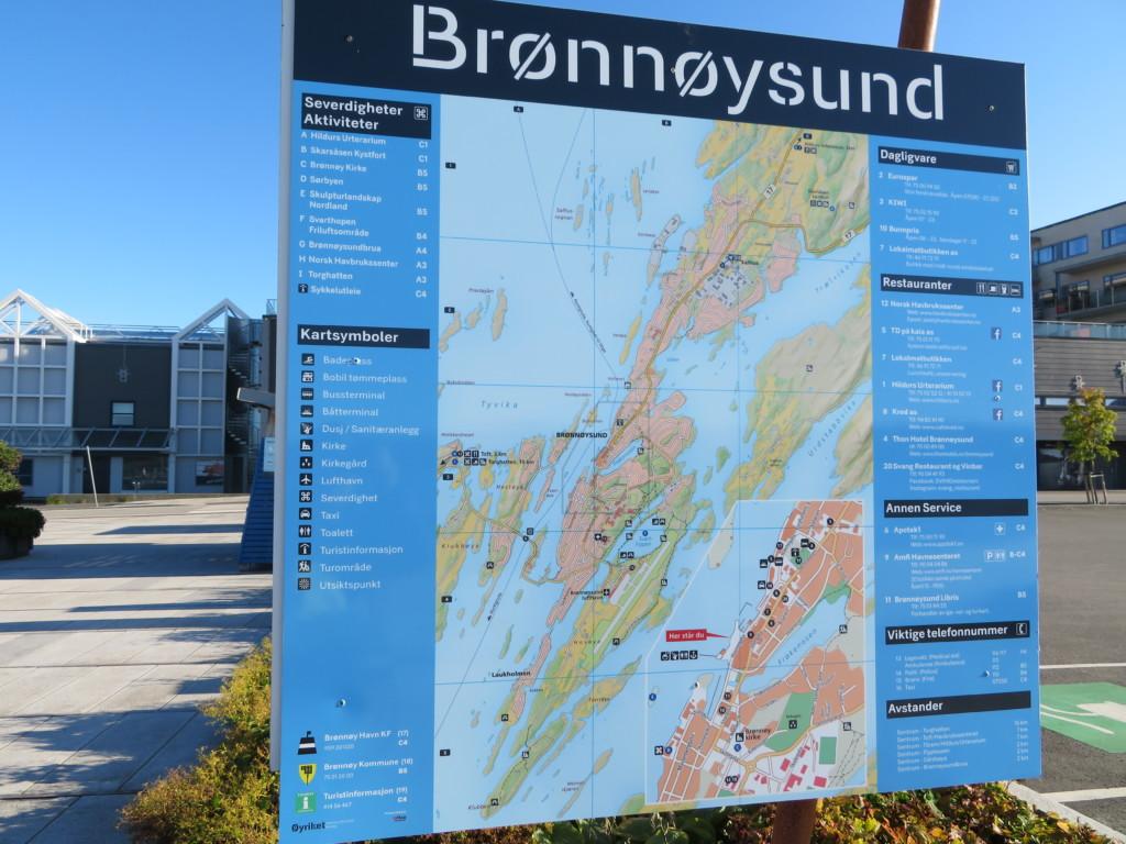 ブロースンの地図